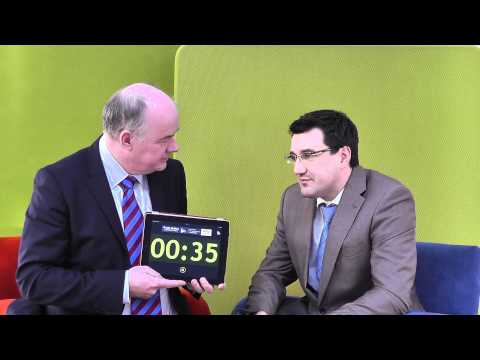 Julian McKeown, ABAC, takes the 60 second challenge with Omagh Enterprise Company