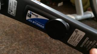 Stages Shimano 6800 Ultegra power meter unboxing and a short review. Have not seen many videos on this power meter so why not upload on?!! Purchase ...