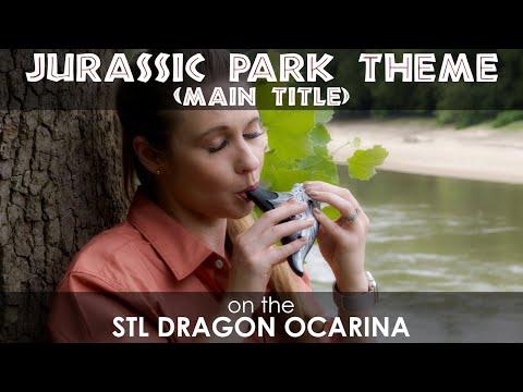 "John Williams  ""Jurassic Park Theme Song"" Cover by STL Ocarina"