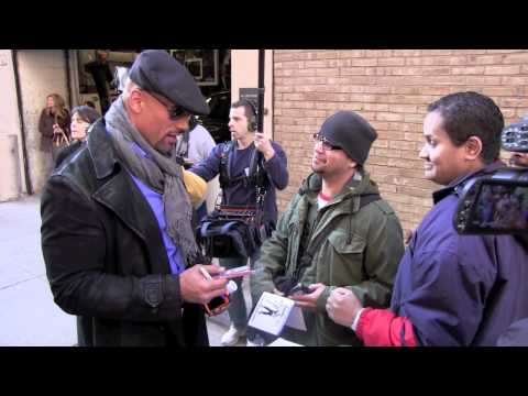 "Dwayne ""Rock"" Johnson Signs Autographs In New York City"