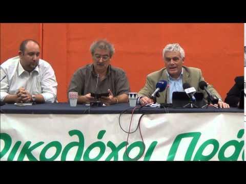 Γιάννης Τσιρώνης στην 80η ΔΕΘ απαντά για προοπτικές συνεργασίας