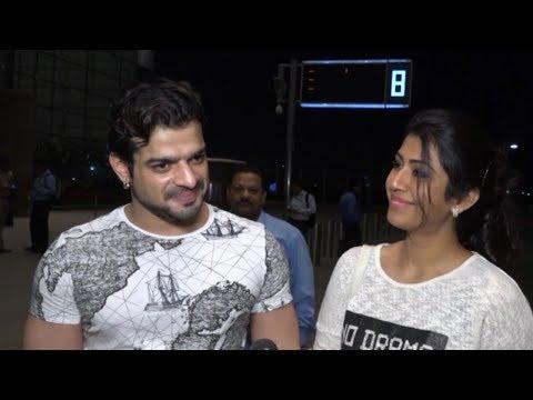 Karan Patel & Ankita Bhargava fly to London for Ne