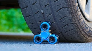 Video EXPERIMENT Car VS Fidget Spinner MP3, 3GP, MP4, WEBM, AVI, FLV Oktober 2017