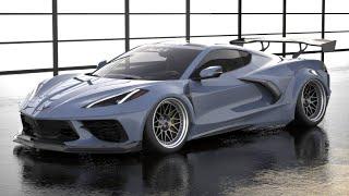 StreetHunter 2020 Corvette Widebody Reveal! by TJ Hunt