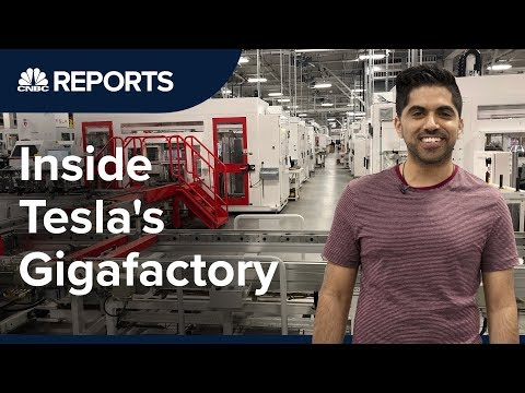 Take a tour inside Tesla's first Gigafactory | CNBC Reports