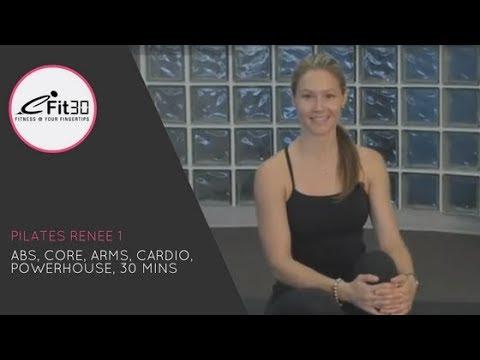 Pilates Class 1, Renee's 30 Minute class, eFit30!
