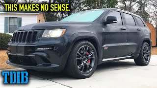 Jeep Grand Cherokee SRT8 Review! The Unsuspecting Grocery Getter? by That Dude in Blue