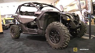 6. 2018 Can Am Maverick X3 X ds Turbo R Side by Side ATV - Walkaround - 2017 Toronto ATV Show