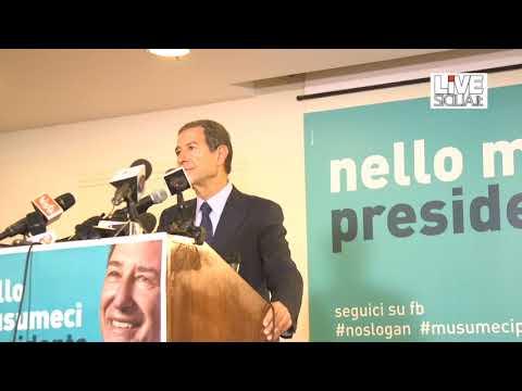 """Musumeci: """"Sarò il Presidente di tutti i siciliani"""""""