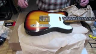 Video Relic'd Fender Telecaster Nitro Finish by MJT Part 1 MP3, 3GP, MP4, WEBM, AVI, FLV Juni 2018