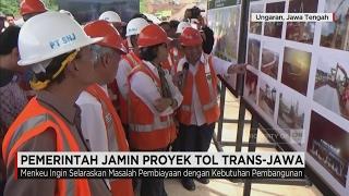 Pemerintah Jamin Proyek Tol Trans-Jawa