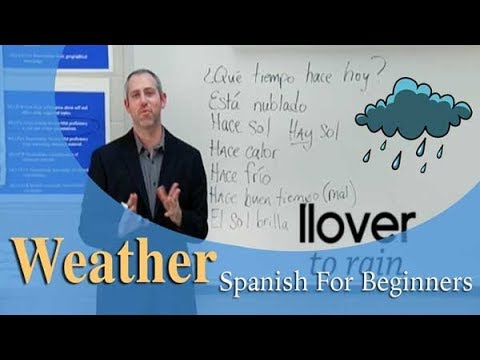 Weather Vocabulary   Spanish For Beginners (Ep.13)