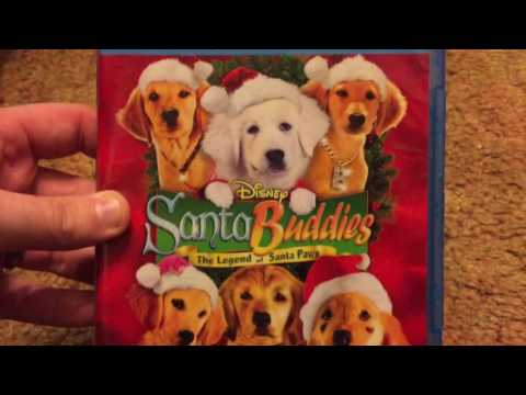 Santa Buddies: The Legend Of Santa Paws Bluray Unboxing!