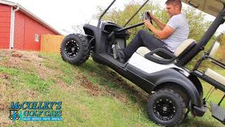 2. Yamaha Drive Electric golf cart Pulls  a Hill Better Than Gas