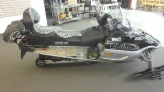 4. 2007 ARCTIC CAT PANTHER 570 TOURING SNOWMOBILE