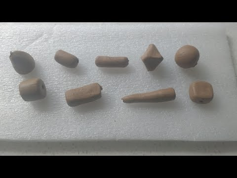 Different types of terracottta beads PART ONE