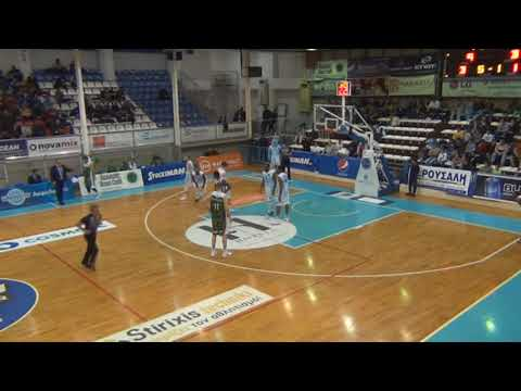 Kolossos Rhodes-GS Larisas Faros 94-74 (no5 white, 15p., 6r., 3as.)