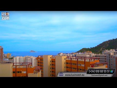 Всего 185000€/3сп, 2в/Пентхаус с видом на море/Недвижимость в Испании/Квартиры в Бенидорме НЕДОРОГО
