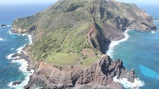 The Pitcairn Islands (/ˈpɪtkɛərn/;[6] Pitkern: Pitkern Ailen) or officially Pitcairn, Henderson, Ducie and Oeno Islands,[7][8][9][10] are a group of four vol...