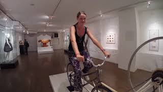 Video Riding The Dildo Bike at The Sex Museum NYC MP3, 3GP, MP4, WEBM, AVI, FLV Desember 2018
