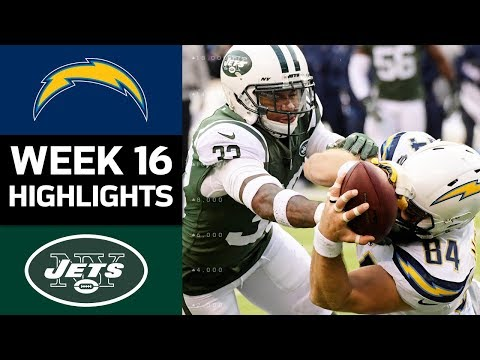Video: Chargers vs. Jets | NFL Week 16 Game Highlights