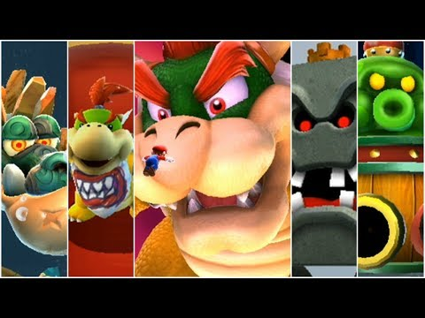 Super Mario Galaxy 2 - All Bosses (2 Players)