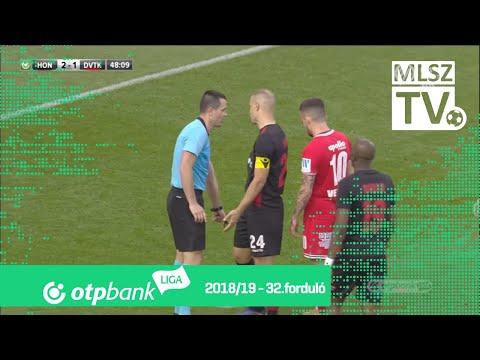 32. forduló: Honvéd - DVTK 4-4 (2-1)
