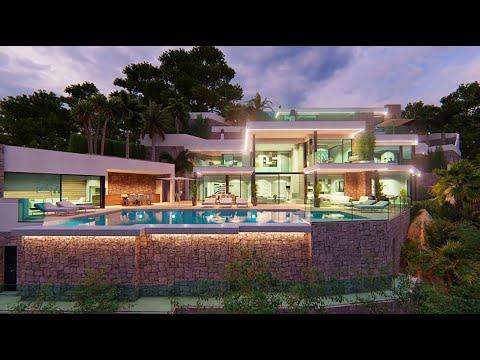 6500000€/1 линии моря/Роскошная эксклюзивная вилла в Испании/Виллы в Испании/Элитная недвижимость