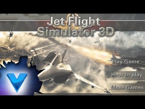 Video of F18 3D Fighter Jet Simulator