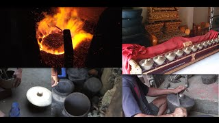 Making of Gamelan Gong (come fare un gong indonesiano) Bali style