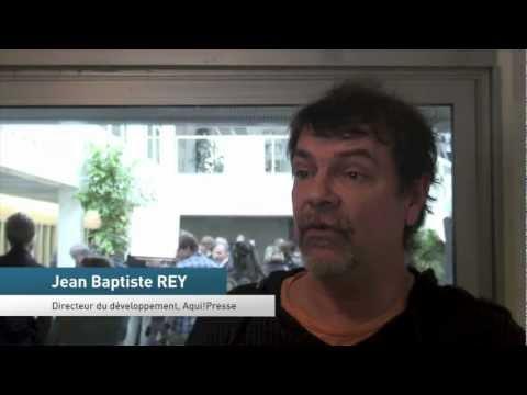 Jean-Baptiste REY, Directeur du développement Aqui!Presse