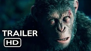 Nonton War For The Planet Of The Apes Trailer  2  2017  Action Movie Hd Film Subtitle Indonesia Streaming Movie Download