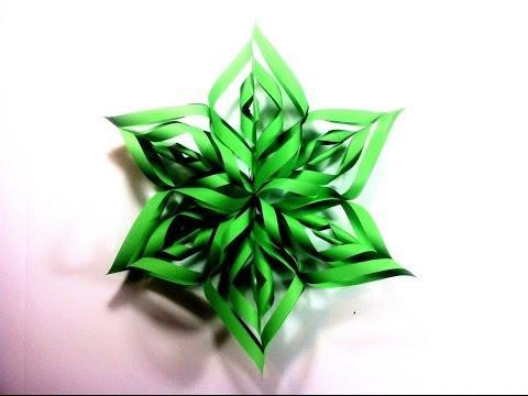 Como hacer estrellas de papel videos videos - Como hacer estrellas de navidad ...