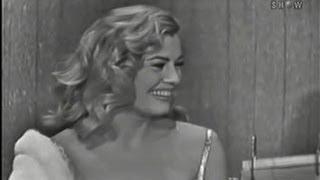 What's My Line? - Anita Ekberg; Tony Randall [panel] (Mar 23, 1958)