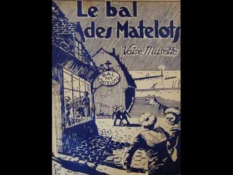 Edith Burger et René Bersin - Le bal des matelots