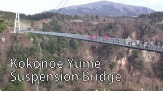 Kokonoe Japan  city images : Kokonoe Yume Suspension Bridge - I Live in Japan 74