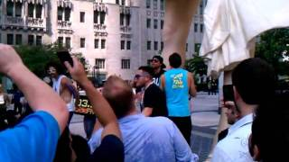 LMFAO Surprises the Public with Party Rock Anthem on Michigan Avenue in Chicago