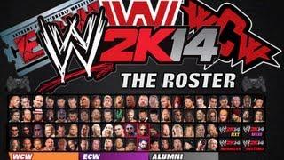 WWE2K14 Roster (WWE, WCW, ECW)