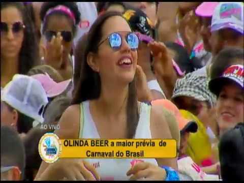 Léo Santana se prepara para agitar o Olinda Beer