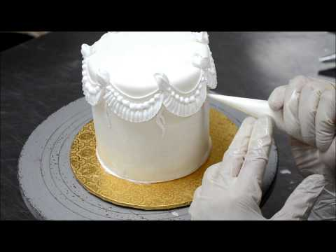 Украшение боков торта фото