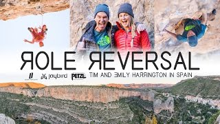 Role Reversal – Tim and Emily Harrington Climbing in Spain by Petzl Sport