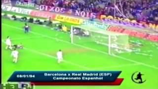 Romarios 53 Treffer für den FC Barcelona