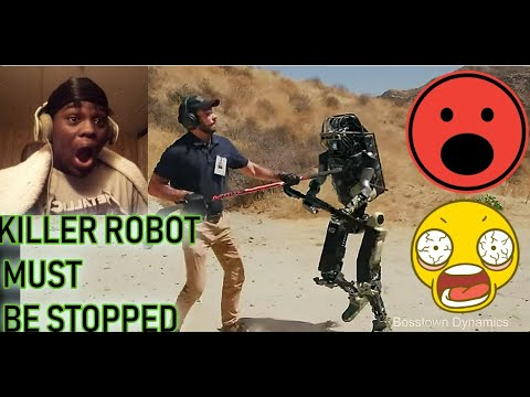He almost Died!!! | New Robot Makes Soldiers Obsolete | Reaction