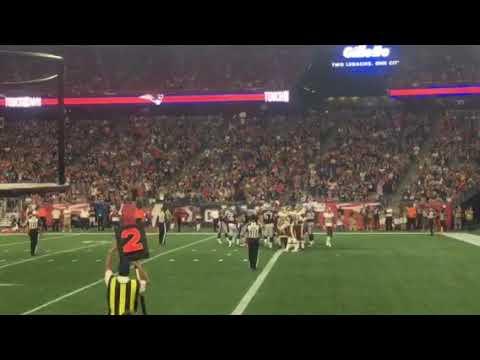 Patriots game pre-season