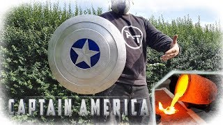 Video Casting Aluminum Captain America Shield (MARVEL) MP3, 3GP, MP4, WEBM, AVI, FLV Agustus 2018