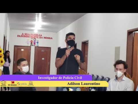 Setembro Amarelo 23/09/2021 Investigador de Polícia Adilson Laurentino