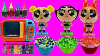 Video Powerpuff Girls MAGIC Microwave LEARN COLORS Mix Cupcakes Helps Toddlers Learn Colours MP3, 3GP, MP4, WEBM, AVI, FLV Juni 2017