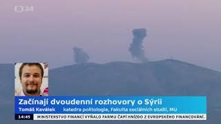 Začínají dvoudenní rozhovory o Sýrii