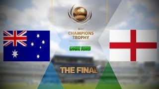 """FINAL - ICC CHAMPIONS TROPHY 2017 GAMING SERIES - AUSTRALIA v ENGLAND (DON BRADMAN CRICKET 17, FULL 1080P HD, 30FPS, XBOX ONE S)Check out the Champions Trophy 2013 Gaming Series playlisthttps://www.youtube.com/playlist?list=PLdKwevnrzNGy2Jax2seo6LK0hiYjwt1PKICC Champions Trophy 2017 FixturesMatch 1 - England v BangladeshMatch 2 - Australia v New ZealandMatch 3 - South Africa v Sri LankaMatch 4 - India v PakistanMatch 5 - Australia v BangladeshMatch 6 - England v New ZealandMatch 7 - Pakistan v South AfricaMatch 8 - Sri Lanka v IndiaMatch 9 - New Zealand v BangladeshMatch 10 - England v AustraliaMatch 11 - India v South AfricaMatch 12 - Sri Lanka v Pakistan Semi Final GA1 v GB2Semi Final GB1 v GA2Final TBD v TBD*Warning: The following is a gameplay from the video game """"Don Bradman Cricket 17"""" for the ps4, Xbox one s and pc. It is by no means actual highlights of the ongoing event """"""""ICC Champions Trophy 2017""""  My gaming setuphttps://www.elgato.com/en/gaming/game-capture-hd60http://store.steampowered.com/app/464850/Don_Bradman_Cricket_17/http://www.vegascreativesoftware.com/ca/vegas-pro/Like me on Facebookhttps://www.facebook.com/PGEHamzah/?ref=bookmarksBe sure to message me any important questions onto there.Comment who you think will win the ICC Champions Trophy 2017 Gaming Series.Be sure to subscribe to join the PGE Army!"""
