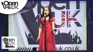 Open Mic UK   Arisxandra Libantino   Singing contest Grand Final